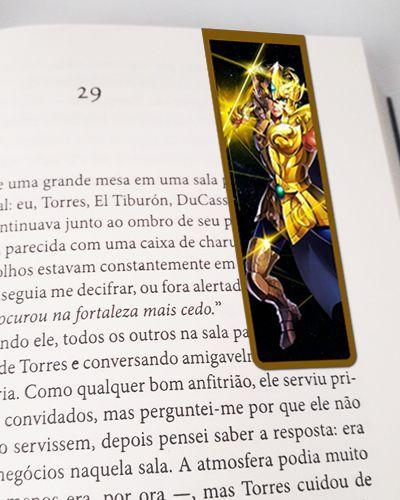 Marcador De Página Magnético Aiolia - Cavaleiros do Zodíaco - MAN07