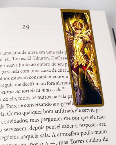 Marcador De Página Magnético Aiolos - Cavaleiros do Zodíaco - MAN12