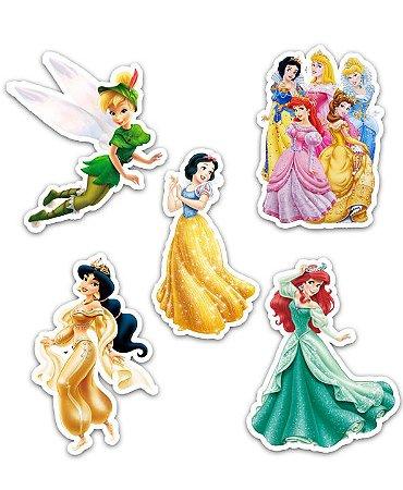 Ímãs Decorativos Princesas Disney Set B - 10 unid