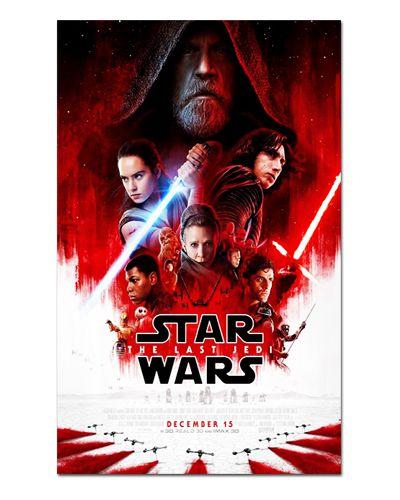 Ímã Decorativo Pôster Star Wars Os Últimos Jedi - IPF565