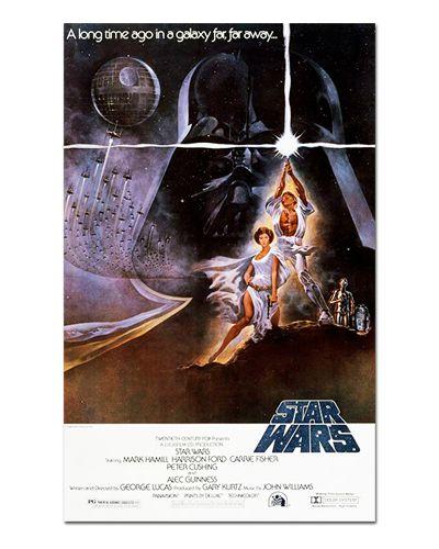 Ímã Decorativo Pôster Star Wars Uma Nova Esperança - IPF561