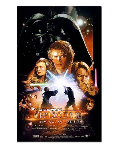 Ímã Decorativo Pôster Star Wars A Vingança dos Sith - IPF560