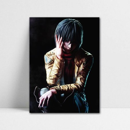 Poster A4 Mikasa - Shingeki no Kyojin - PSK04