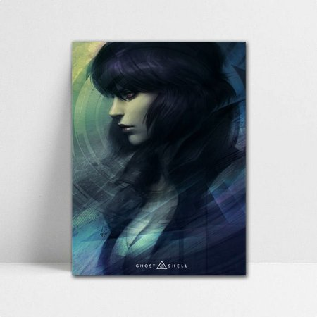 Poster A4 Motoko - Ghost in The Shell - POA03