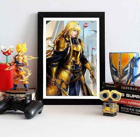 Quadro Decorativo Alice - Sword Art Online - QV180