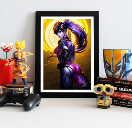 Quadro Decorativo Widowmaker - Overwatch - QV313