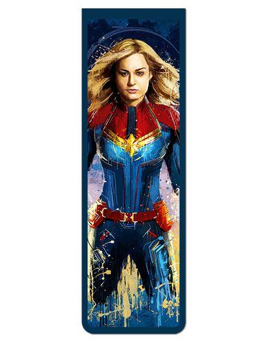 Marcador De Página Magnético Capitã Marvel - Avengers - MMA117