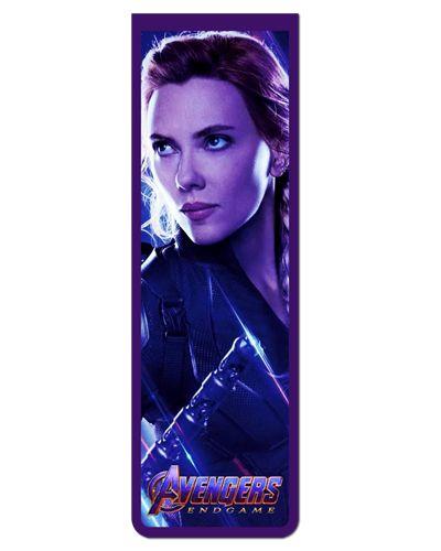 Marcador De Página Magnético Black Widow - Avengers - MMA108