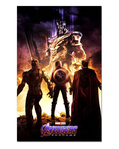 Ímã Decorativo Trinity Avengers Endgame - IQM01