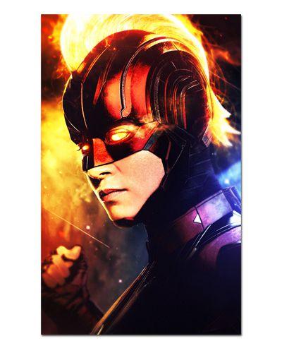 Ímã Decorativo Capitã Marvel - Avengers Endgame - IQM06