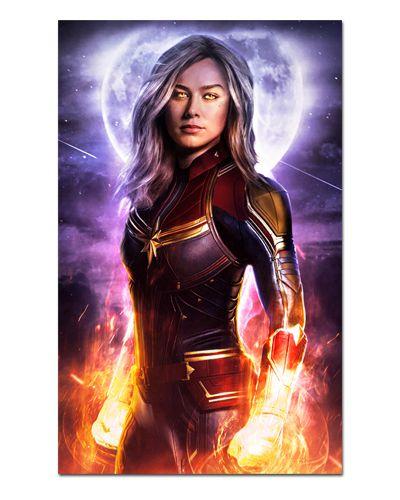 Ímã Decorativo Capitã Marvel - Avengers Endgame - IQM34