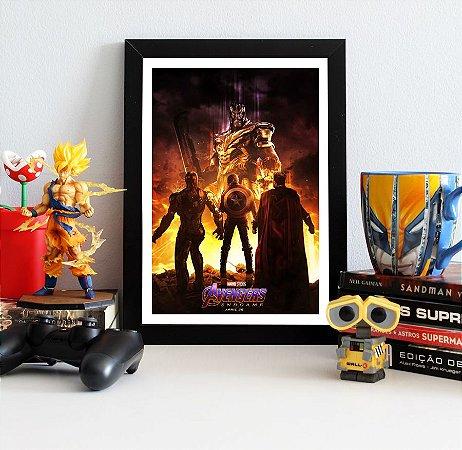 Quadro Decorativo Trinity Avengers Endgame - QV410