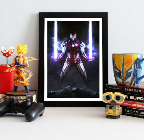 Quadro Decorativo Iron Man - Avengers Endgame - QV413