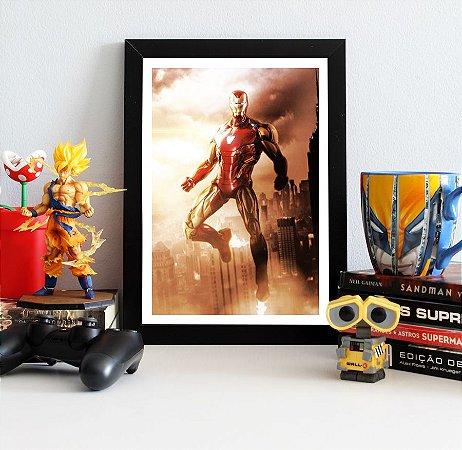Quadro Decorativo Iron Man - Avengers Endgame - QV414