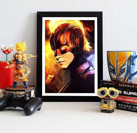 Quadro Decorativo Capitã Marvel - Avengers Endgame - QV415