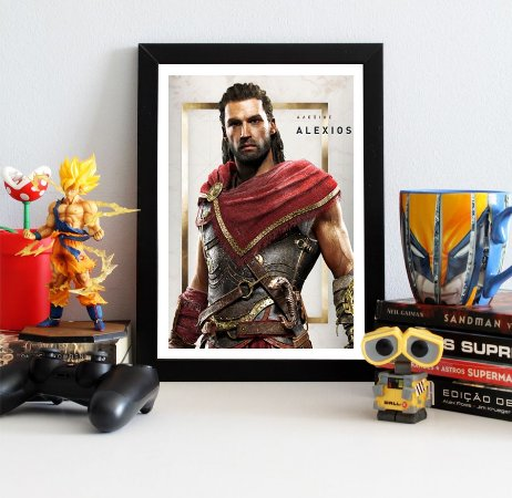 Quadro Decorativo Alexios - Assassin's Creed - QV322