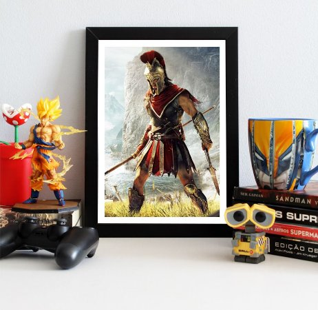 Quadro Decorativo Alexios - Assassin's Creed - QV326