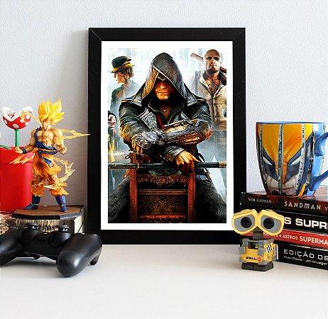 Quadro Decorativo Jacob - Assassin's Creed - QV328