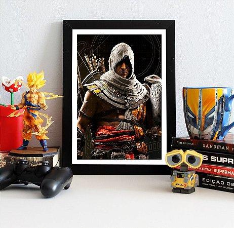 Quadro Decorativo Bayek - Assassin's Creed - QV329