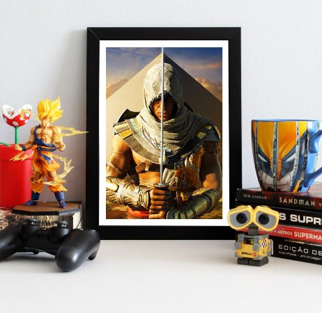 Quadro Decorativo Bayek - Assassin's Creed - QV330