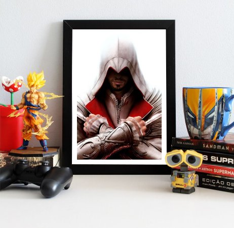 Quadro Decorativo Ezio - Assassin's Creed - QV332