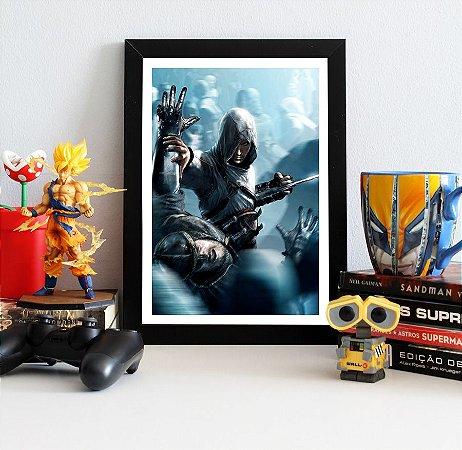 Quadro Decorativo Altair - Assassin's Creed - QV334