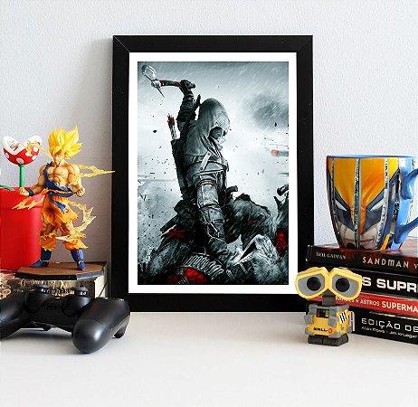 Quadro Decorativo Connor - Assassin's Creed - QV338