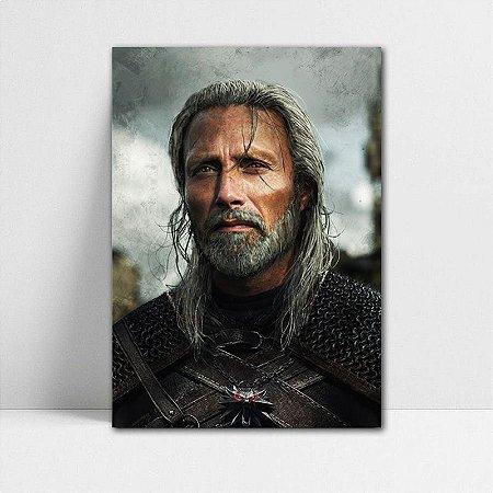 Poster A4 Geralt - The Witcher - PT354