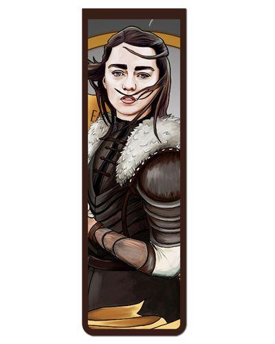 Marcador De Página Magnético Arya - Game of Thrones - GOT60