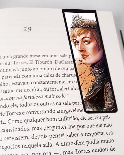 Marcador De Página Magnético Cersei - Game of Thrones - GOT71