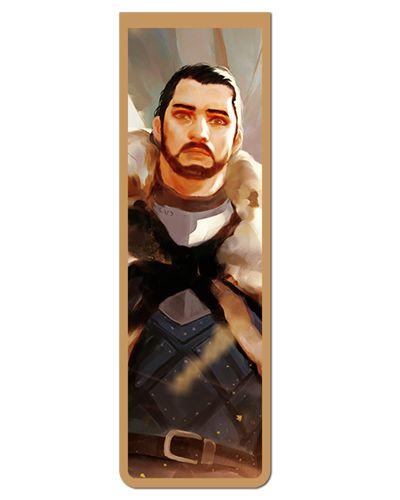 Marcador De Página Magnético Jon Snow - Game of Thrones - GOT80