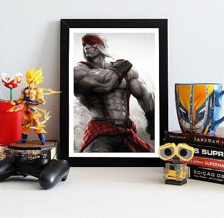Quadro Decorativo Alex - Street Fighter - QV373