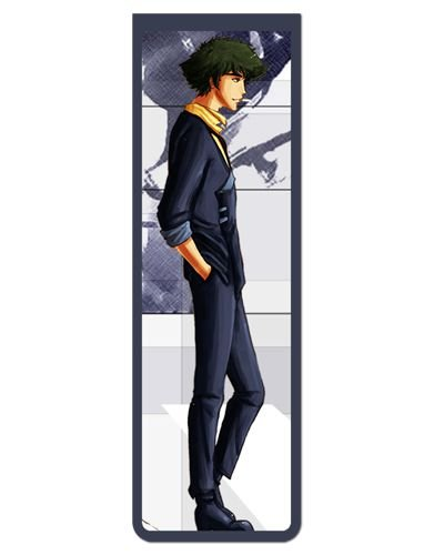 Marcador De Página Magnético Spike - Cowboy Bebop - MAN086