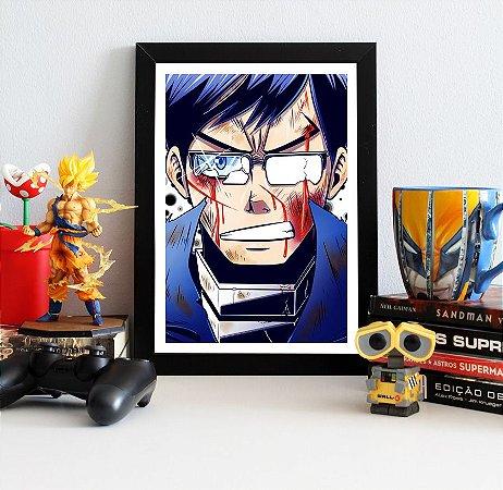 Quadro Decorativo Tenya Iida - My Hero Academia - QV202