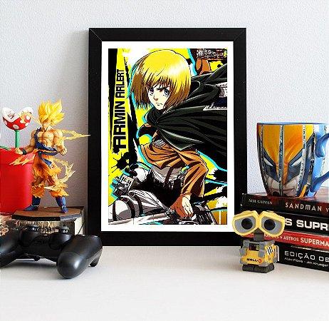 Quadro Decorativo Armin - Attack on Titan - QV80