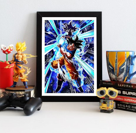 Quadro Decorativo Goku Superior - Dragon Ball - QV111
