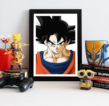 Quadro Decorativo Goku - Dragon Ball - QV103