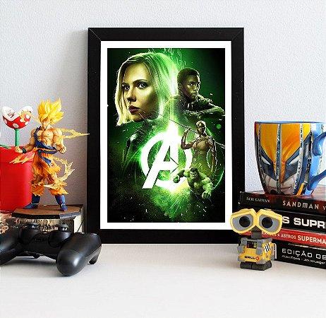 Quadro Decorativo Avengers Infinity War - QAVI21