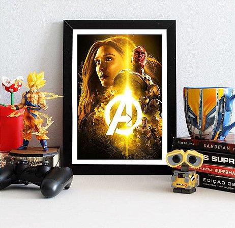 Quadro Decorativo Avengers Infinity War - QAVI19