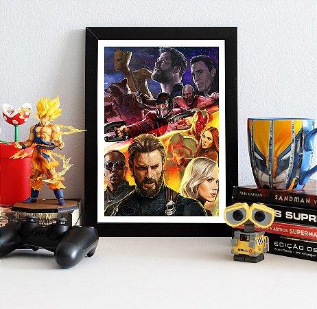 Quadro Decorativo Avengers Infinity War - QAVI13