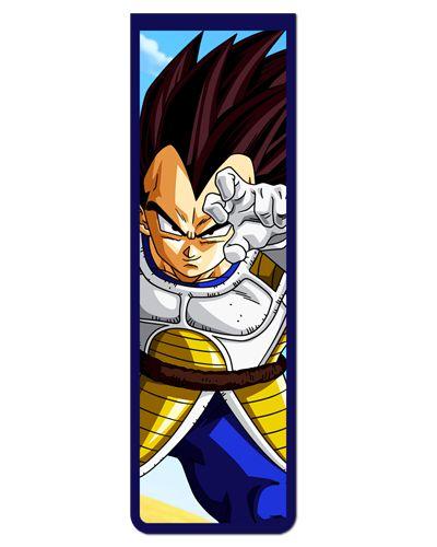Marcador De Página Magnético Vegeta - Dragon Ball - MAN147