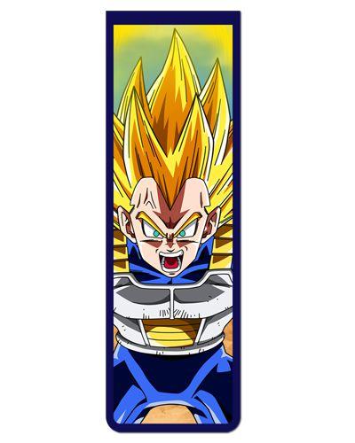 Marcador De Página Magnético Vegeta - Dragon Ball - MAN149