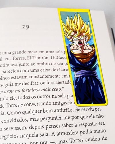 Marcador De Página Magnético Vegetto - Dragon Ball - MAN168