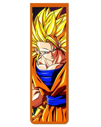 Marcador De Página Magnético Goku - Dragon Ball - MAN170