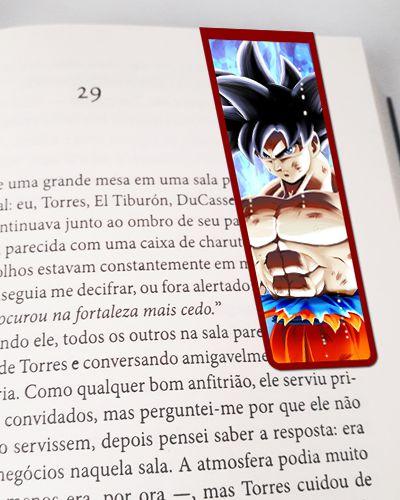 Marcador De Página Magnético Goku - Dragon Ball - MAN182
