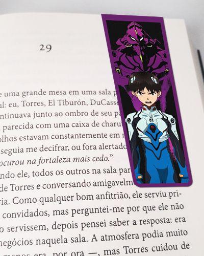 Marcador De Página Magnético Shinji - Evangelion - MAN248