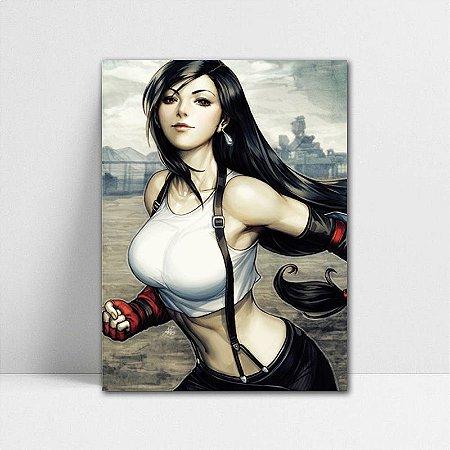 Poster A4 Tifa - Final Fantasy - PT384
