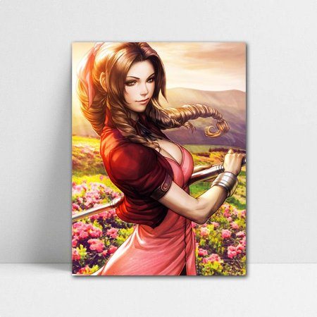 Poster A4 Aerith - Final Fantasy - PT386