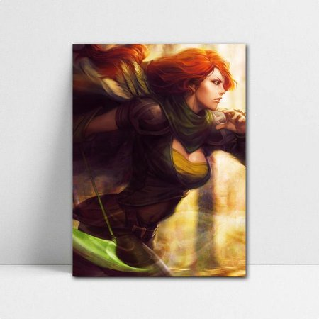 Poster A4 Windranger - Dota 2 - PT388