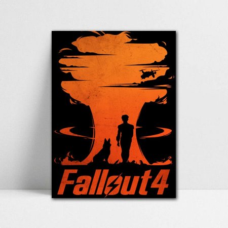 Poster A4 Fallout 4 - PT392